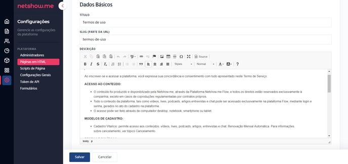 COMO CRIAR PÁGINAS EM HTML DESCRIÇÃO ART72 P35